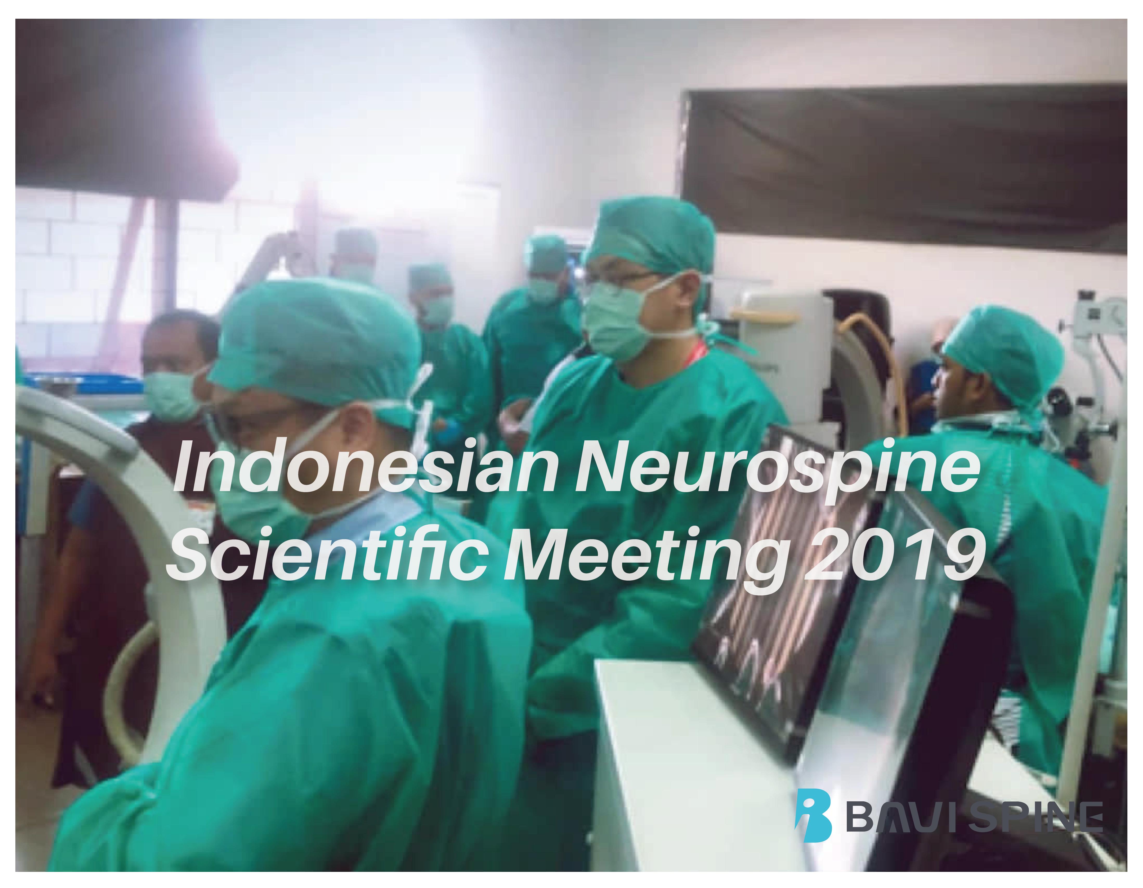 2019 Neurospine Scientific Meeting